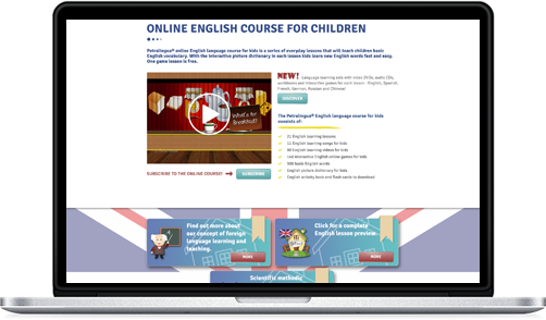online languages for children kids learn english spanish