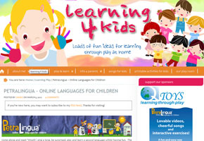 petralingua testimonials - learning4kids.net